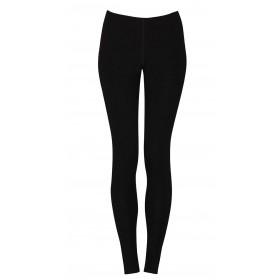 Legging with broad elastics , wool, black (36-48)