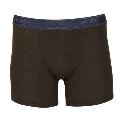 Men's boxer short, wool, chocolate (4-8)
