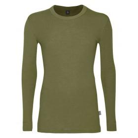 Shirt long sleeved, wool, aocado (4-8)