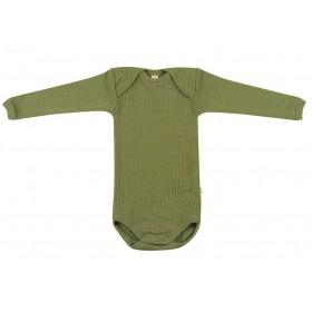 Body long sleeved, wool, avocado (62-98)