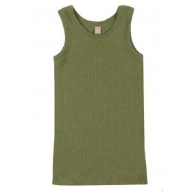 Hemd, wol, avocado (98-152)