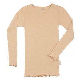 Shirt lange mouw, wol/zijde, sun kiss (98-152)