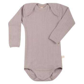 Body long sleeved, wool, burnished lilac (62-98)