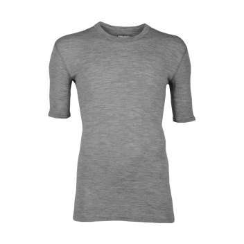 Shirt short sleeved, wool, grey (5-8)