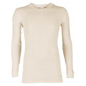 Shirt lange mouw, merinowol, naturel (5-8)