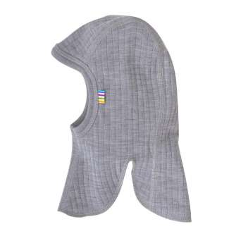 Balaclava, wool, light blue (41-52)