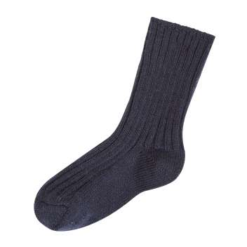 Socks, wool, marine (13-42)