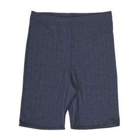 Bermuda, wol/zijde, blauw (XS-XL)