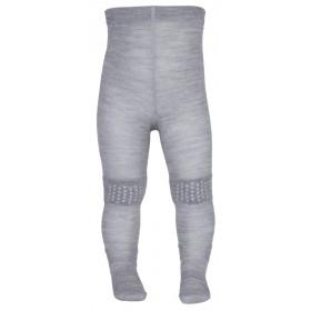 kruipmaillot, wol, grijs (70-90)