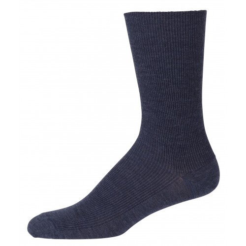 Socks, wool, dark blue (41-48)